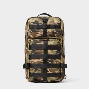 Zara camouflage multi-pocket crossbody bag